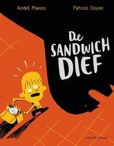 Boek cover De sandwichdief van Andre Marois (Onbekend)
