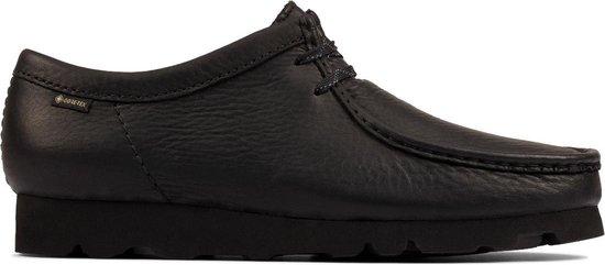 Clarks - Herenschoenen - Wallabee GTX - G - black leather - maat 8,5