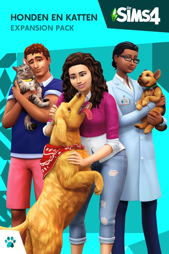 Bol Com De Sims 4 Honden En Katten Expansion Pack Windows Mac Code In Box