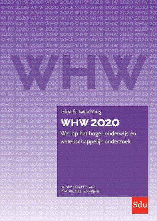 Boek cover Tekst & Toelichting  -   WHW 2020 Tekst & Toelichting van Prof. Mr. P.J.J. Zoontjens (Paperback)