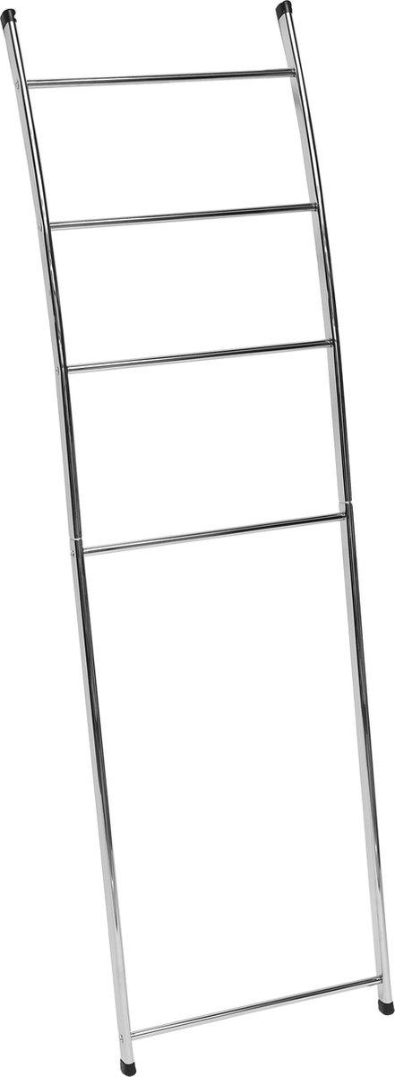 4goodz metalen handdoekhouder ladder chroom 44x150 cm
