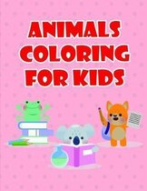 Animals coloring for kids