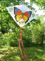 Vlinder Delta Vlieger - 70x100cm