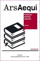 Ars Aequi Wetseditie  -   Burgerlijk wetboek 2020/2021