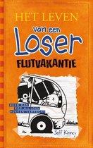 Boek cover Het leven van een Loser 9 -   Flutvakantie van Jeff Kinney (Hardcover)
