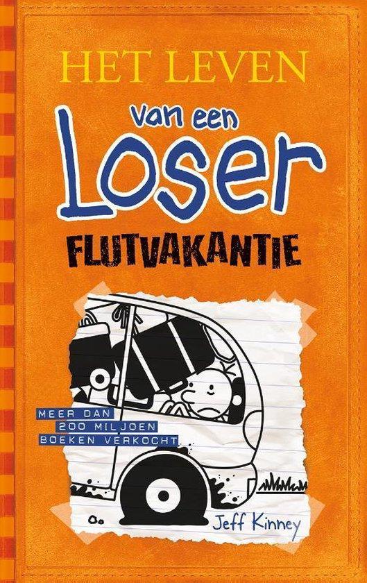 Boekomslag voor Het leven van een Loser 9 - Flutvakantie