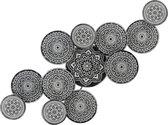 Wanddecoratie Metaal Cirkels