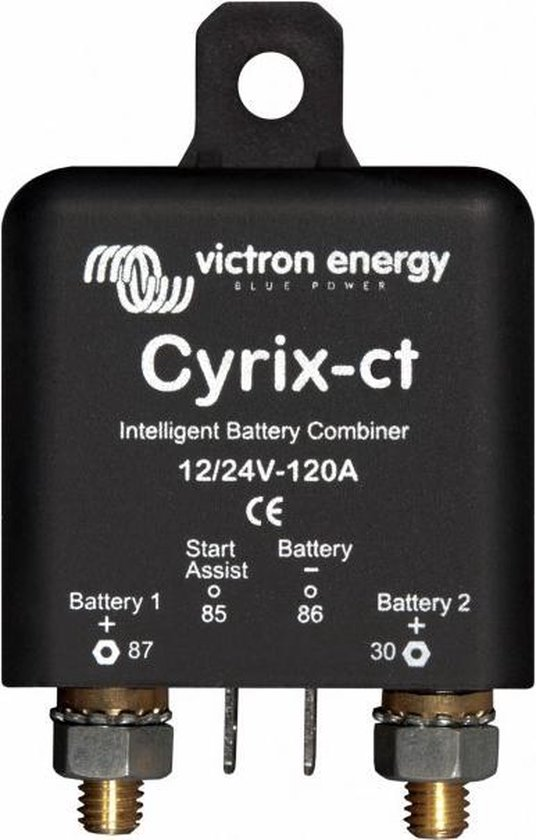 Cyrix-ct 12/24V-120A intelligent battery combiner Retail