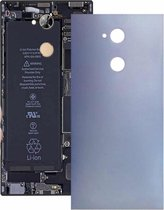Let op type!! Back Cover with Side Keys for Sony Xperia XA2 Ultra(Grey)
