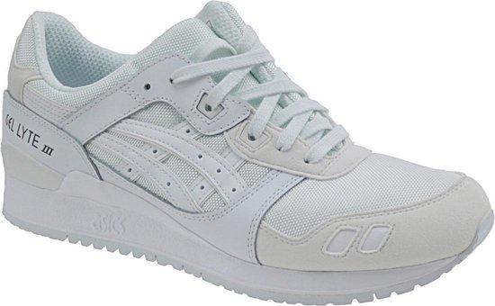 Asics gel-lite iii triple white - sneakers - unisex schoenen - wit -maat 36  - hn6g4-0101