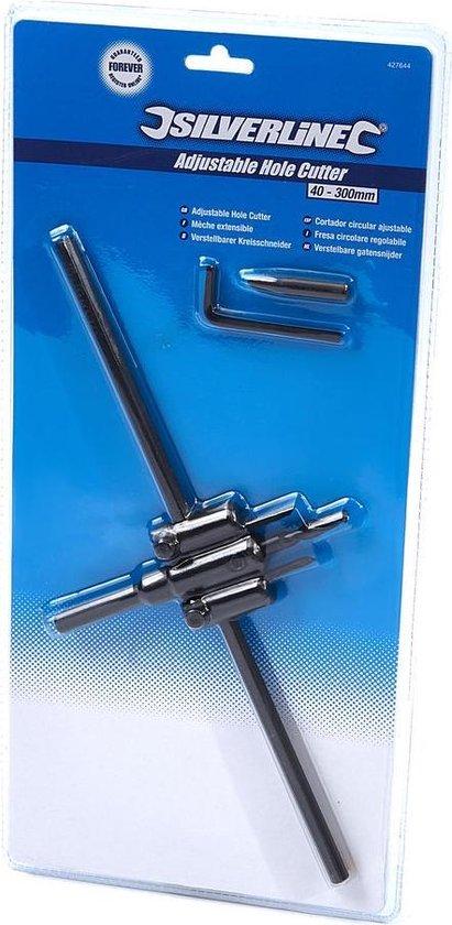 Silverline 40 - 300 mm. Verstelbare Cirkelsnijder