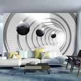 Fotobehang - Futuristische Tunnel - Multi Colour