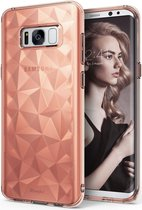 Ringke Air Prism Samsung Galaxy S8 Hoesje Rose Gold