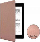i12Cover - Premium Business Slimfit Sleepcover voor Kobo Aura One - Rose-Goud