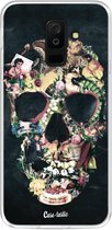 Samsung Galaxy A6 Plus (2018) hoesje Vintage Skull Casetastic Smartphone Hoesje softcover case