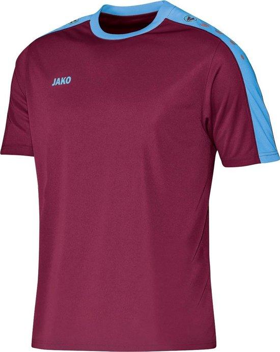 Jako Striker KM - Voetbalshirt - Jongens - Maat 140 - Rood donker