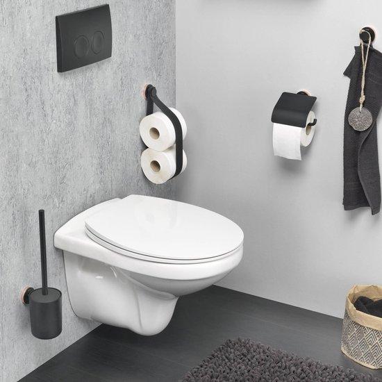 Tiger Urban Toiletborstel met houder - Zwart