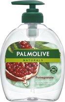 6x Palmolive Handzeep Naturals Granaatappel 300 ml