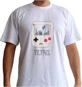 TETRIS - T-Shirt GameBoy - White (XXL)
