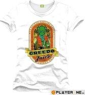 STAR WARS - T-Shirt Greedo Juice - White (XXL)