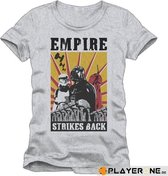 STAR WARS - T-Shirt Empire Strike Back Grey (XL)