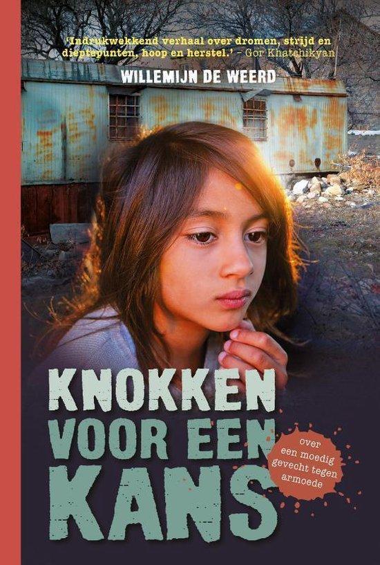 Boek cover Knokken voor een kans van Willemijn de Weerd (Hardcover)