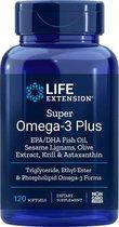 Life Extension Super Omega met Krill & Astaxanthine - 120 gelcapsules - Visolie - Voedingssupplement