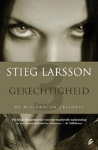 Omslag Millennium 3 - Gerechtigheid - Deel 3 van de Millennium trilogie - Stieg Larsson