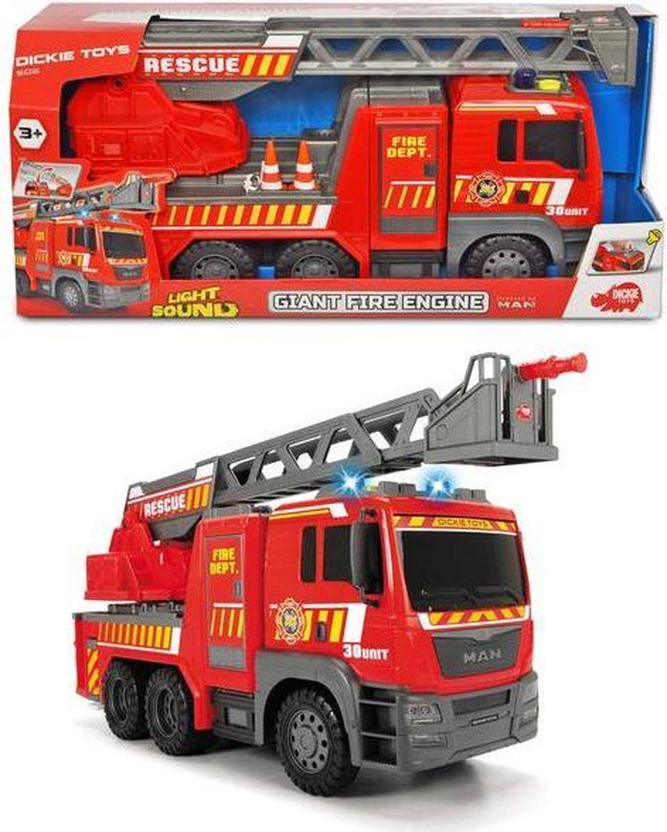 Brandweerwagen Met Licht En Geluid 54 Cm
