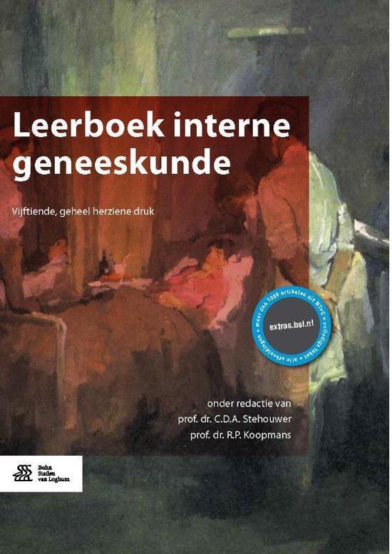 Boek cover Leerboek interne geneeskunde van Joost van der Meer (Hardcover)