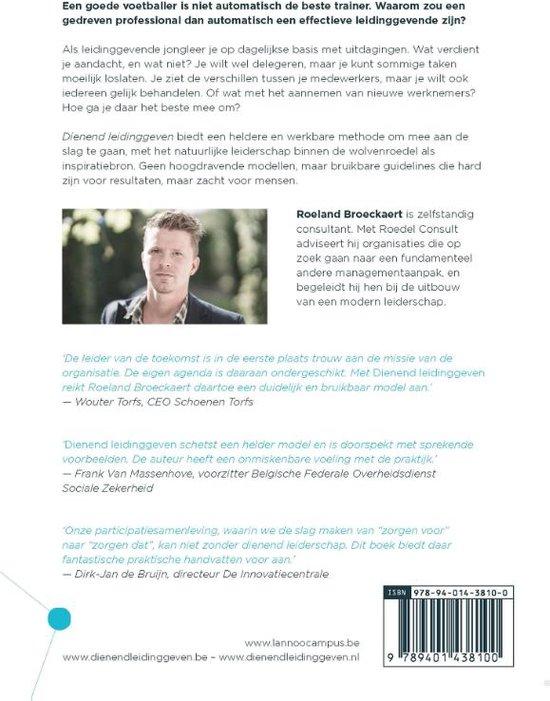 Dienend leidinggeven - Roeland Broeckaert
