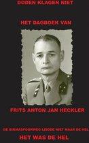Het dagboek van Frits Anton Jan Heckler
