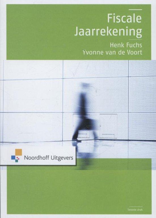 Boek cover Fiscale jaarrekening van Henk Fuchs (Paperback)
