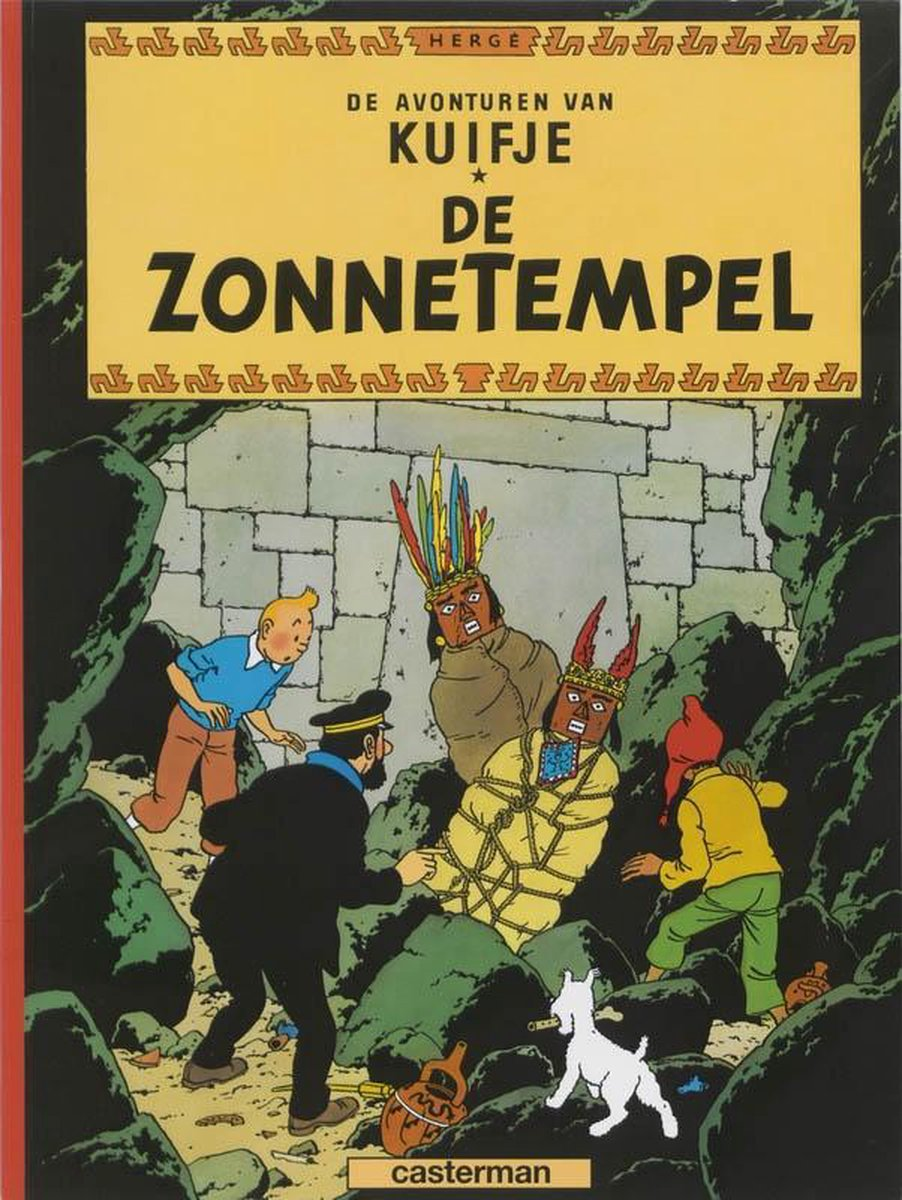 Kuifje 14. de zonnetempel - Hergé