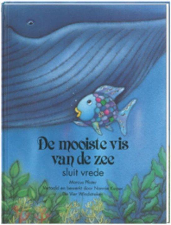 Boek cover De mooiste vis van de zee  -   De mooiste vis van de zee sluit vrede van Marcus Pfister (Hardcover)