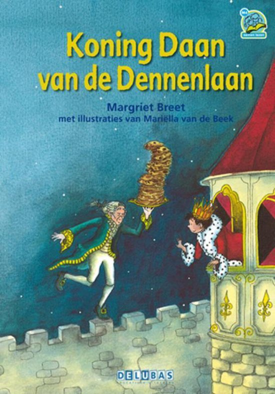 Boek cover Samenleesboeken  -   Koning Daan van de Dennenlaan van Margriet Breet (Hardcover)