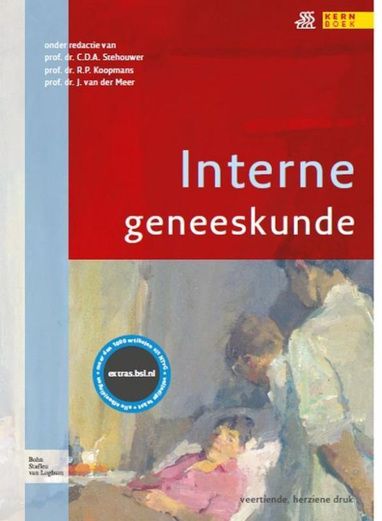 Boek cover Interne geneeskunde van Joost van der Meer (Hardcover)