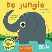 Boek cover De jungle (geluidenboekje) van Marion Billet
