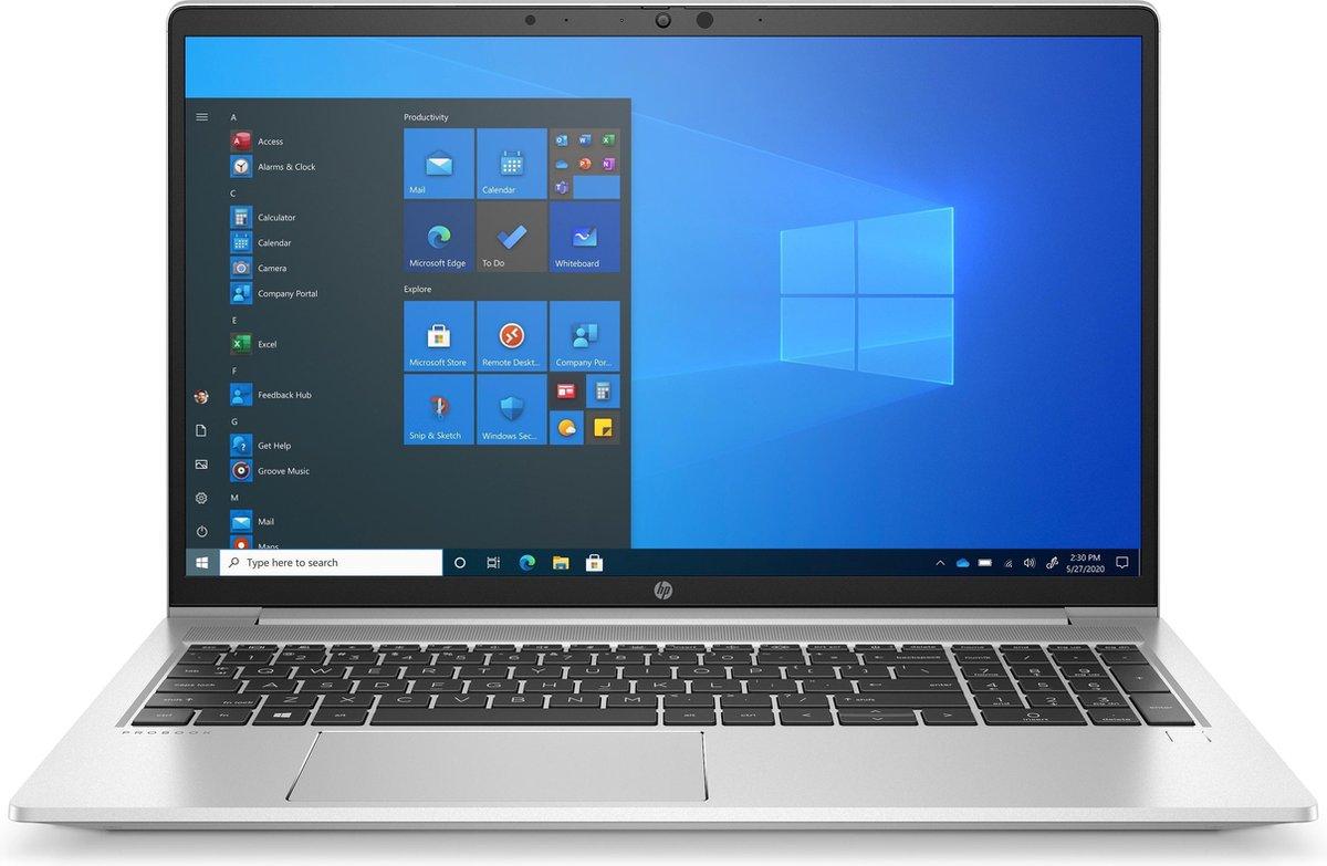 "HP ProBook 650 G8 DDR4-SDRAM Notebook 39,6 cm (15.6"") 1920 x 1080 Pixels Intel® 11de generatie Core™ i5 8 GB 256 GB SSD Wi-Fi 6 (802.11ax) Windows 10 Pro Zilver"