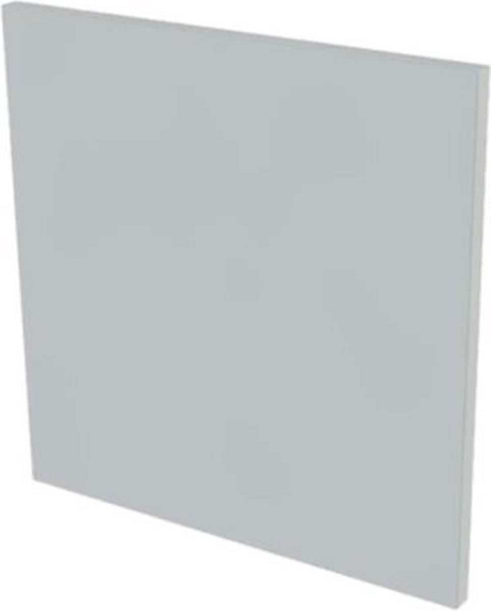 Nemo Start Stella spiegelpaneel B600 x H600 x D28 mm kleur grijs
