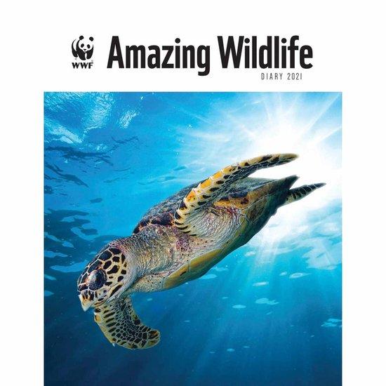 Wwf Amazing Wildlife Deluxe A5 Diary 2021