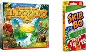 Spellenbundel - Bordspellen - 2 stuks - De zoektocht naar El Dorado & Skip-Bo
