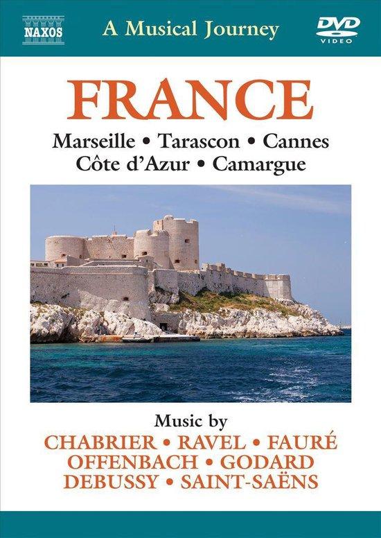 Cover van de film 'A Musical Journey - France'