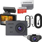 AZDome M10 Pro dashcam voor auto - Continue voeding - Rear cam - 128gb