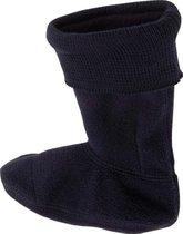 Playshoes Fleecesokken voor regenlaarzen Kinderen - Donkerblauw - maat 22-23