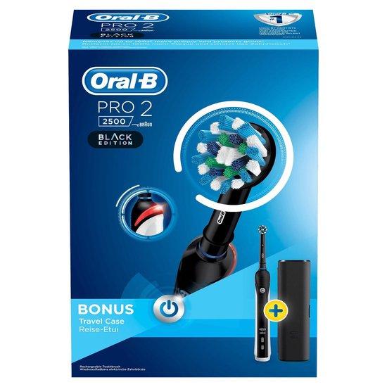 Oral-B Pro 2 2500 - Elektrische Tandenborstel - Zwart