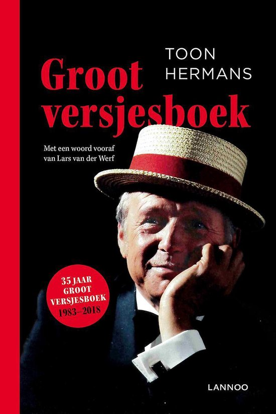 Boek cover Groot Versjesboek van Toon Hermans (Paperback)