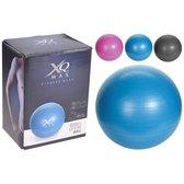 Fitnessbal 55 Cm met pompje - Yoga / Gymnastiekbal 55 Cm - Yoga bal - Pilates bal - Yoga & Fitness gym Bal - Yoga oefenigen zitbal - Yogabal - Gymbal - Pilatesbal - Verschillende kleuren Yoga Ball 55 Cm - Kleur: BLAUW