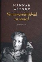 Boek cover Verantwoordelijkheid en oordeel van Hannah Arendt (Paperback)