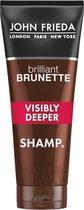 John Frieda - Brilliant Brunette Visibly Deeper Shampoo - Šampon - 250ml